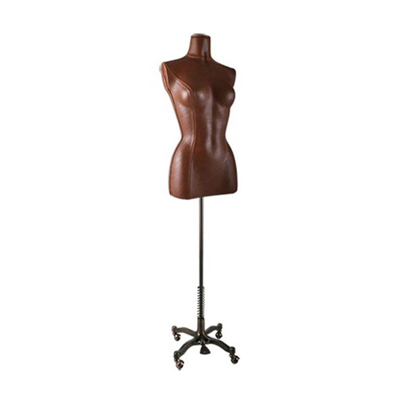 torso busto mujer cuero