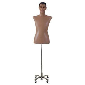 torso hombre realista esculpido vintage