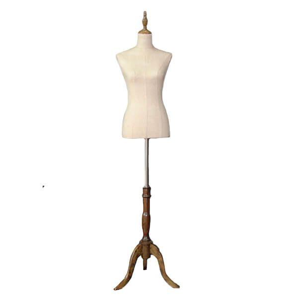 frank busto torso mujer lino