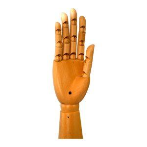 mano madera