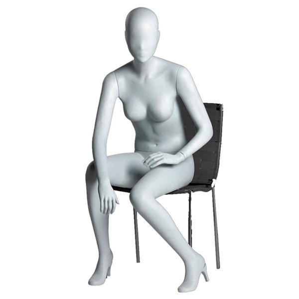 amber maniqui mujer sentado abstracto