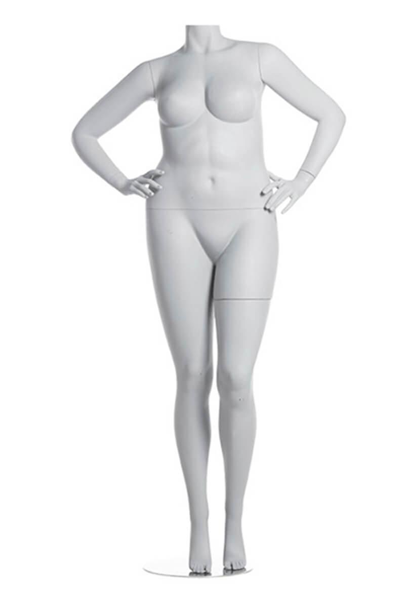 amber plus maniqui mujer talla grande