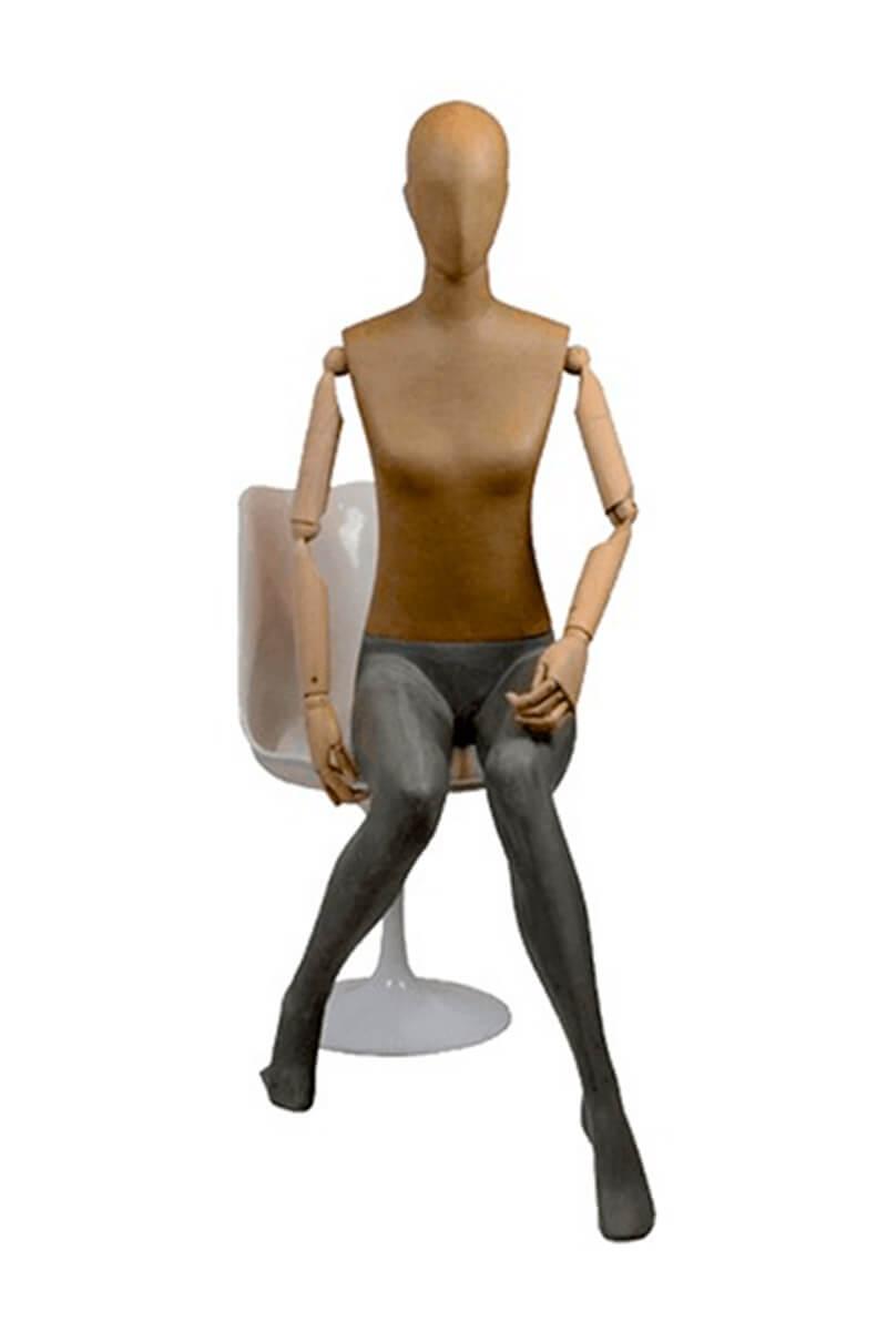 gabanna maniqui mujer articulado