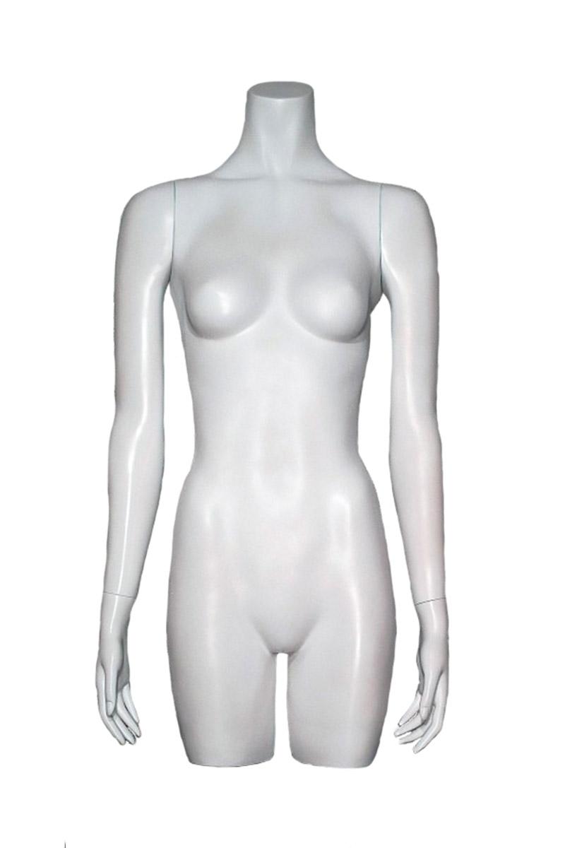 torso mujer brazos fibra de vidrio