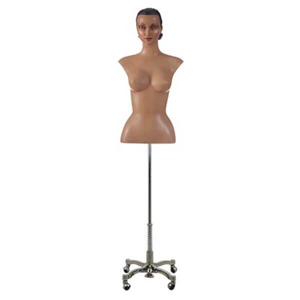 busto torso mujer realista esculpido vintage