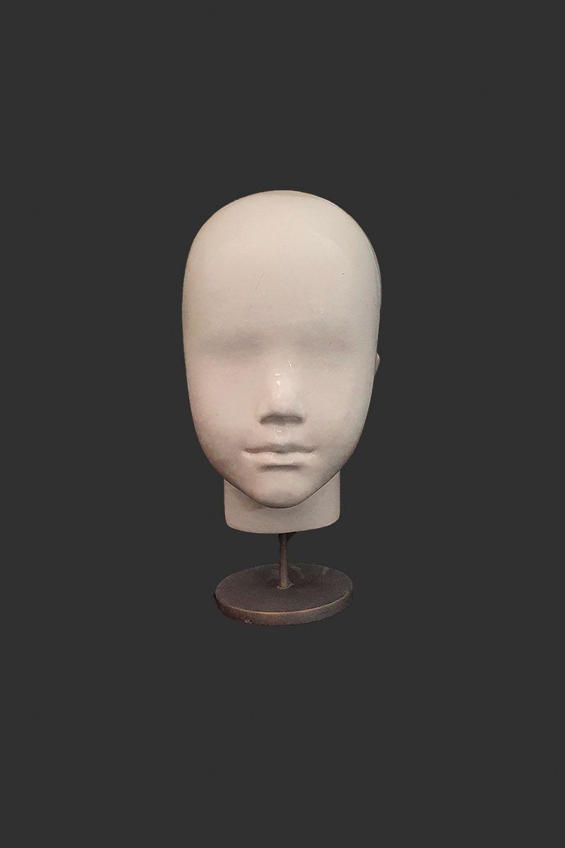 cabeza infantil