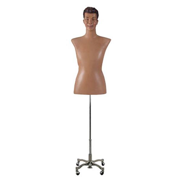 busto hombre realista esculpido vintage