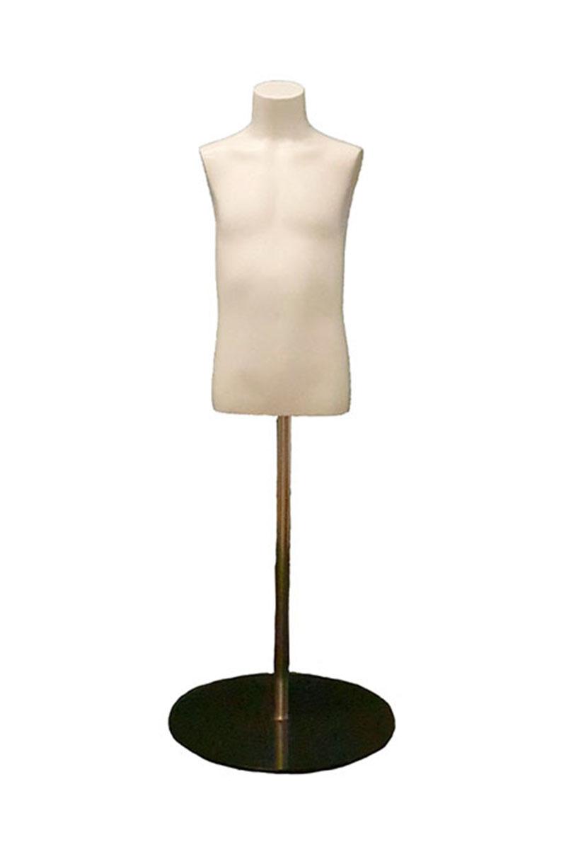 torso infantil fibra de vidrio
